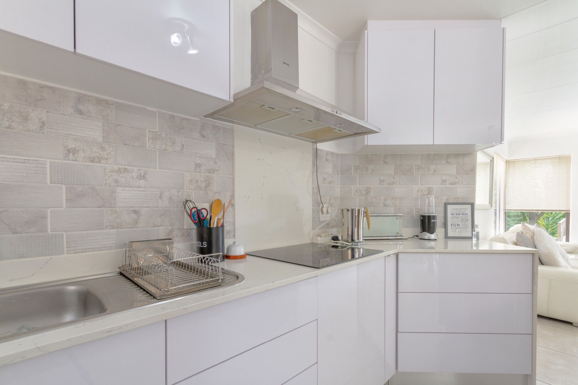 Modern kitchen and fittings